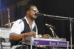 Robert Randolph & The Family Band Royalty Free Stock Images
