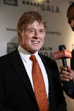 Robert Redford. NEW YORK-APR 27: Honoree Robert Redford attends the 42nd Chaplin Award Gala at Alice Tully Hall, Lincoln Center on April 27, 2015 in New York Royalty Free Stock Photos
