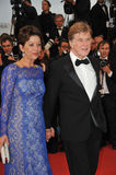 Robert Redford & Sibylle Szaggars Royalty Free Stock Photography