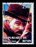 Robert Redford znaczek pocztowy Zdjęcia Royalty Free