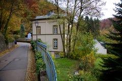 Robert Schuman House i Luxembourg Royaltyfri Foto