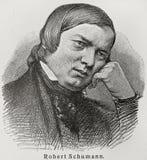 Robert Schumann Lizenzfreie Stockbilder
