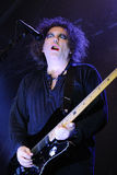 Robert Smith, singer and guitarist of the legendary rock band The Cure Stock Photography