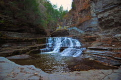 Robert Treman State Park, Ithaca, NY. Stock Photos