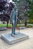Robert Wadlow Alton Giant Statue. At 8 feet, 11 inches, Robert Wadlow is considered by many to be the tallest person in recorded history. His life-size statue Royalty Free Stock Photos