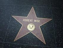 Robert Wise-Stern in Hollywood lizenzfreies stockfoto