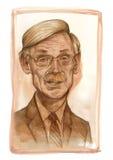 Robert Zoellick Sketch royalty free stock photos