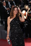 Roberta Armani. CANNES, FRANCE - MAY 16: Roberta Armani attends 'The Tree Of Life' premiere during the 64th Annual Cannes Film Festival at Palais des Festivals stock images