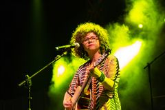 Roberta Campos, Brasilien Kriol Jazz Festival lizenzfreie stockfotografie