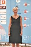 Roberta Pinotti al Giffoni Film Festival 2015 Royalty Free Stock Photo