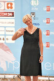 Roberta Pinotti al Giffoni Film Festival 2015 Royalty Free Stock Photos