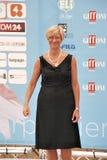 Roberta Pinotti al Giffoni Film Festival 2015 Stock Photography