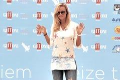 Roberta Scardola al Giffoni Film Festival 2015 Stock Foto