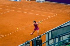 Roberta Vinci i Bucharest den öppna tennisturneringen Royaltyfri Foto