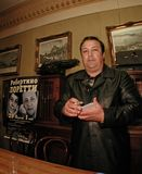Robertino Loretti, посещение в Москве, России, 20-04-2003 Стоковые Изображения