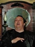 Robertino Loretti, besök i Moskva, Ryssland, 20-04-2003 royaltyfri bild