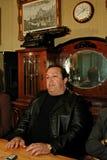 Robertino Loretti, besök i Moskva, Ryssland, 20-04-2003 royaltyfri fotografi