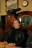 Robertino Loretti, Besuch in Moskau, Russland, 20-04-2003 Lizenzfreie Stockfotografie