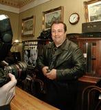 Robertino Loretti, visita em Moscou, Rússia, 20-04-2003 fotos de stock royalty free