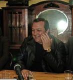 Robertino Loretti, visita em Moscou, Rússia, 20-04-2003 imagem de stock royalty free