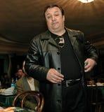 Robertino Loretti, visita em Moscou, Rússia, 20-04-2003 imagem de stock
