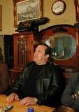 Robertino Loretti, visita en Moscú, Rusia, 20-04-2003 Imagen de archivo libre de regalías