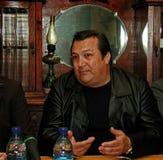 Robertino Loretti, visita en Moscú, Rusia, 20-04-2003 Foto de archivo