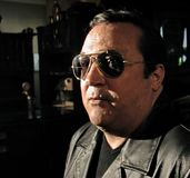 Robertino Loretti, wizyta w Moskwa, Rosja, 20-04-2003 Obraz Stock