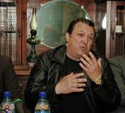Robertino Loretti, wizyta w Moskwa, Rosja, 20-04-2003 Fotografia Stock