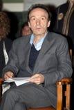 Roberto Benigni Imagen de archivo libre de regalías