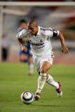 Roberto Carlos of Real Madrid royalty free stock photography