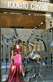 Roberto Cavalli fashion shop in Italy Royalty Free Stock Photos
