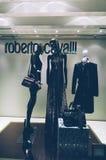 Roberto Cavalli, sklepowy okno, Zdjęcie Stock