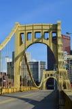 Roberto Clemente Bridge Pittsburgh Royalty Free Stock Photography