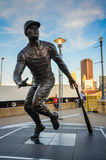 Roberto Clemente Statue - Pittsburgh, PA photographie stock