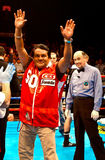 Roberto Duran Former World Champion stock afbeeldingen