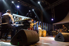 Roberto Fonseca Quartet, Cuba Stock Photography