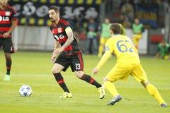 Roberto Hilbert Bayer Leverkusen Stock Images