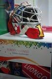 Roberto Luongo helmet Stock Image