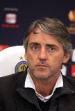 Roberto Mancini of Manchester City Royalty Free Stock Image