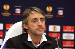 Roberto Mancini of Manchester City Royalty Free Stock Photography