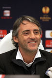 Roberto Mancini of Manchester City Stock Photo