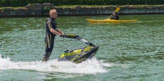 Roberto Mariani Jet-ski Stock Images
