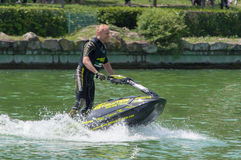 Roberto Mariani Jet-ski royalty free stock photo