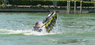Roberto Mariani Jet-ski Royalty Free Stock Photos