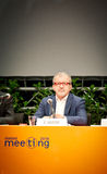 Roberto Maroni at the Rimini Meeting Stock Image