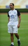 Roberto Martinez Manager de Everton Fotografía de archivo libre de regalías
