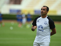 Roberto Martinez Manager of Everton Royalty Free Stock Photo