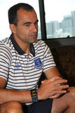 Roberto Martinez Manager of Everton Stock Photos