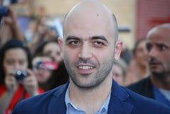 Roberto Saviano al Giffoni Film Festival 2013 Imagens de Stock Royalty Free